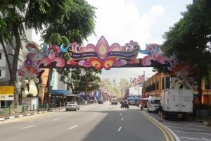 Entering Little India