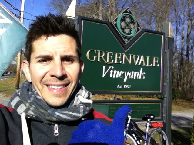 Visiting Greenvale Vineyards in Newport Rhode Island