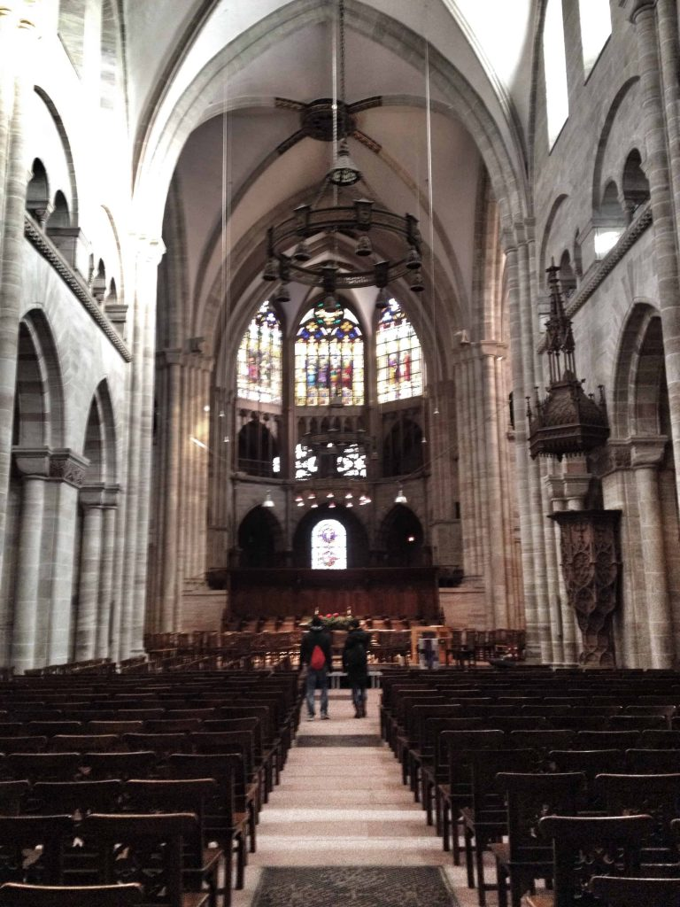 Inside the Cathedral