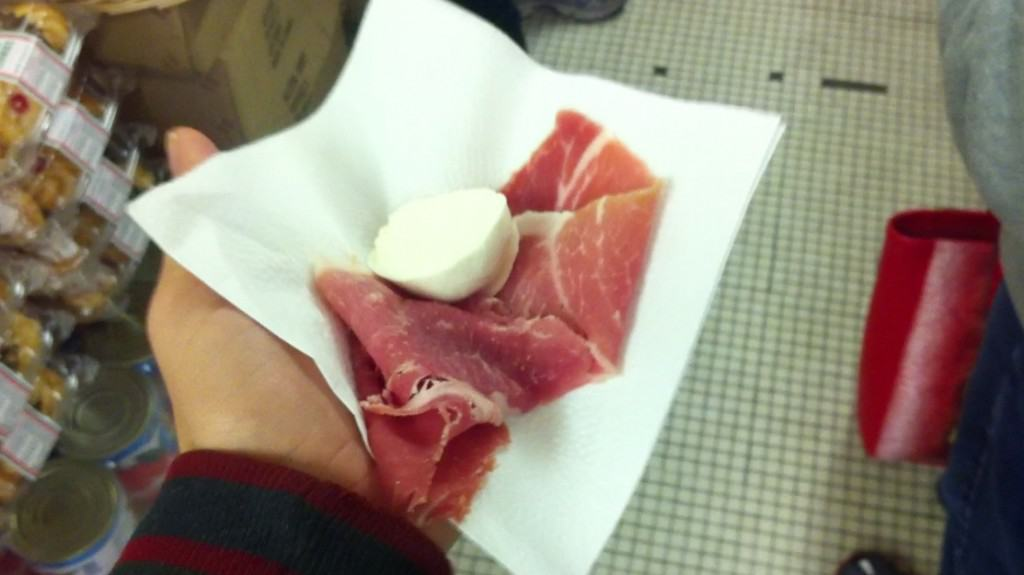Procuitto at Alleva in NYC