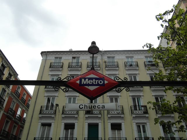 Chueca Gay Neighborhood Madrid
