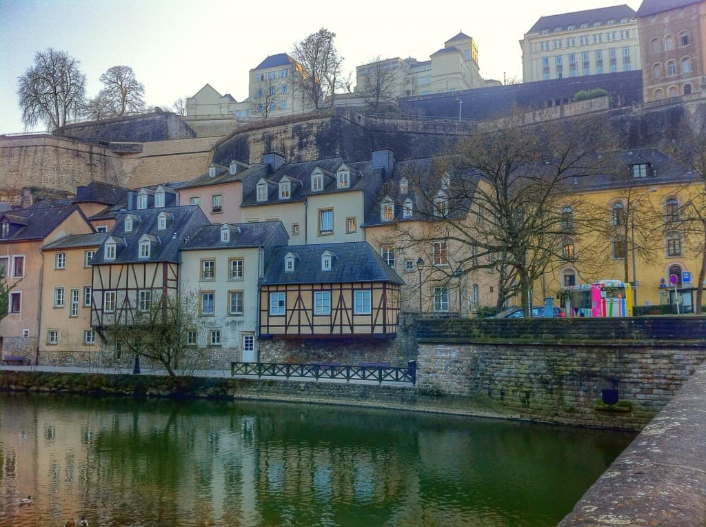 Visiting the Lower City of Grund was one of my favorite things to do in Luxembourg City
