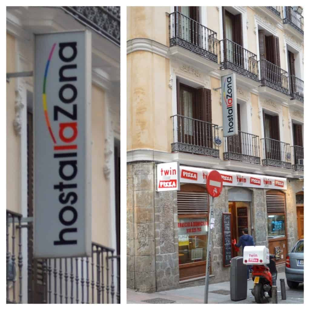 Hostal La Zona Madrid - Another great option / Gay hotel Madrid