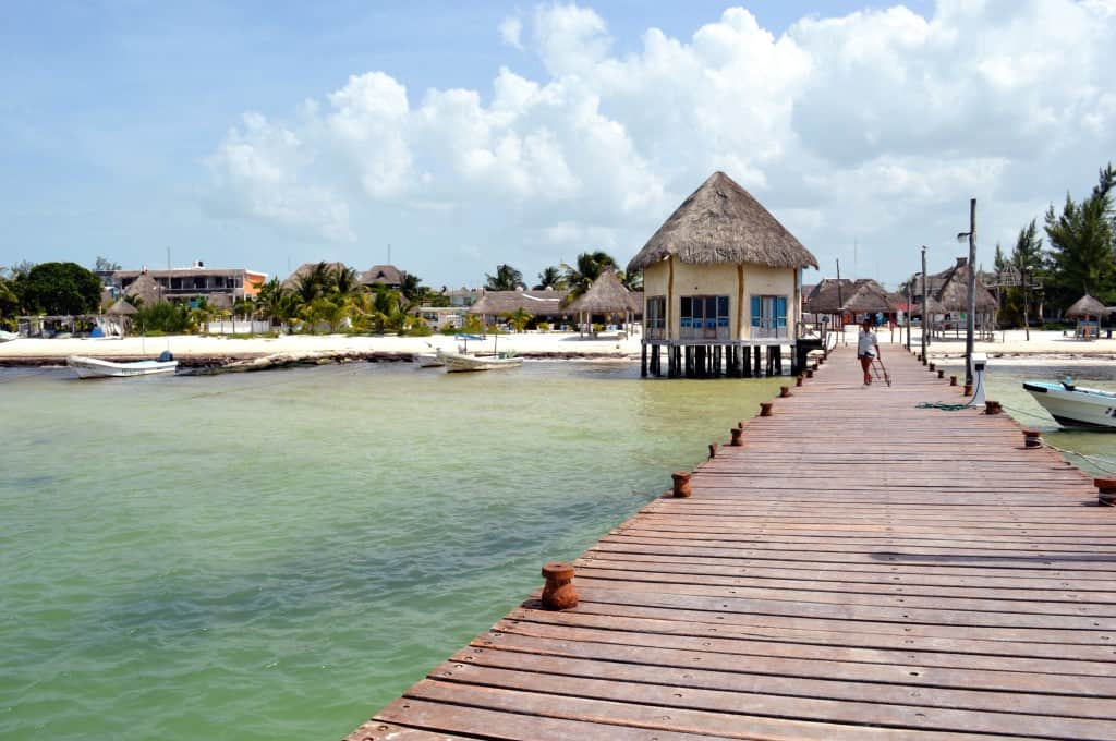 Dock at Holbox Island