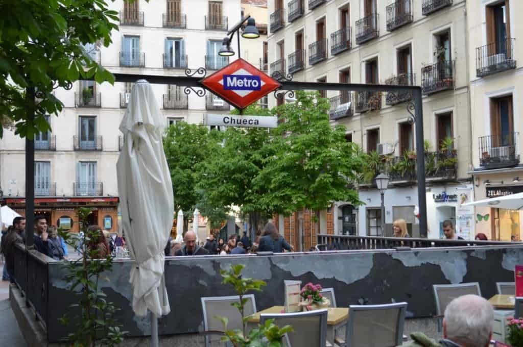 Chueca Plaza in Madrid