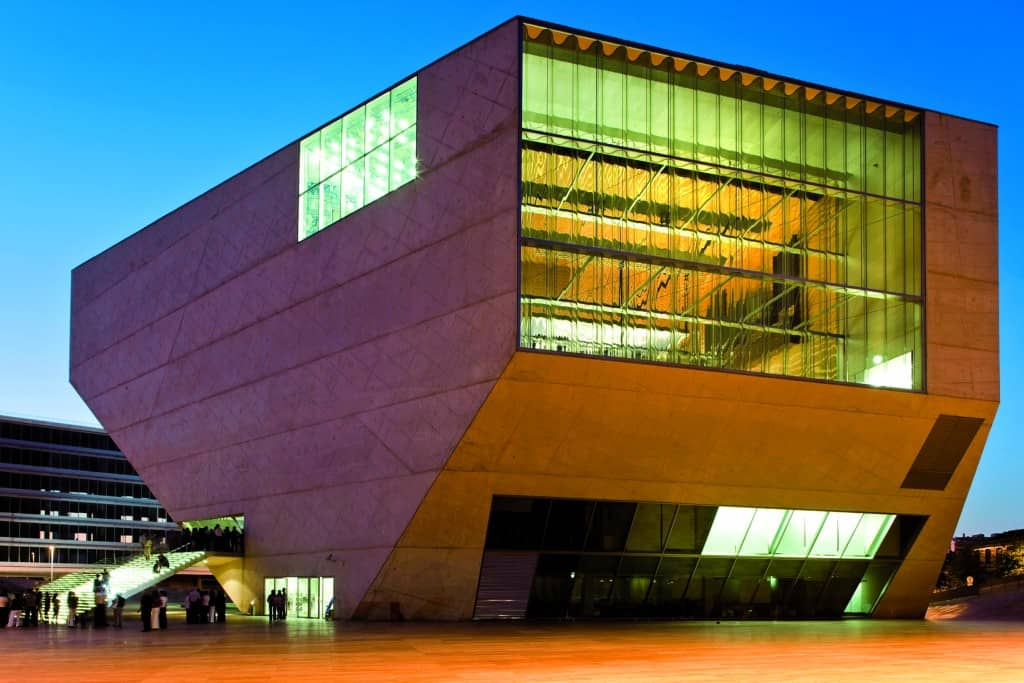 Casa de Musica, Photo Credit: Porto Convention and Visitors Bureau CC BY-NC-ND - Associação de Turismo do Porto e Norte, AR