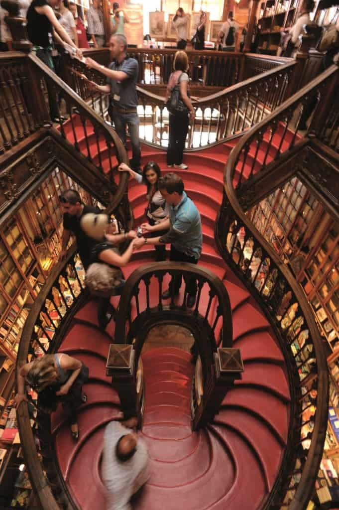 Livraria Lello Bookstore, Photo Credit: Porto Convention and Visitors Bureau CC BY-NC-ND - Associação de Turismo do Porto e Norte, AR
