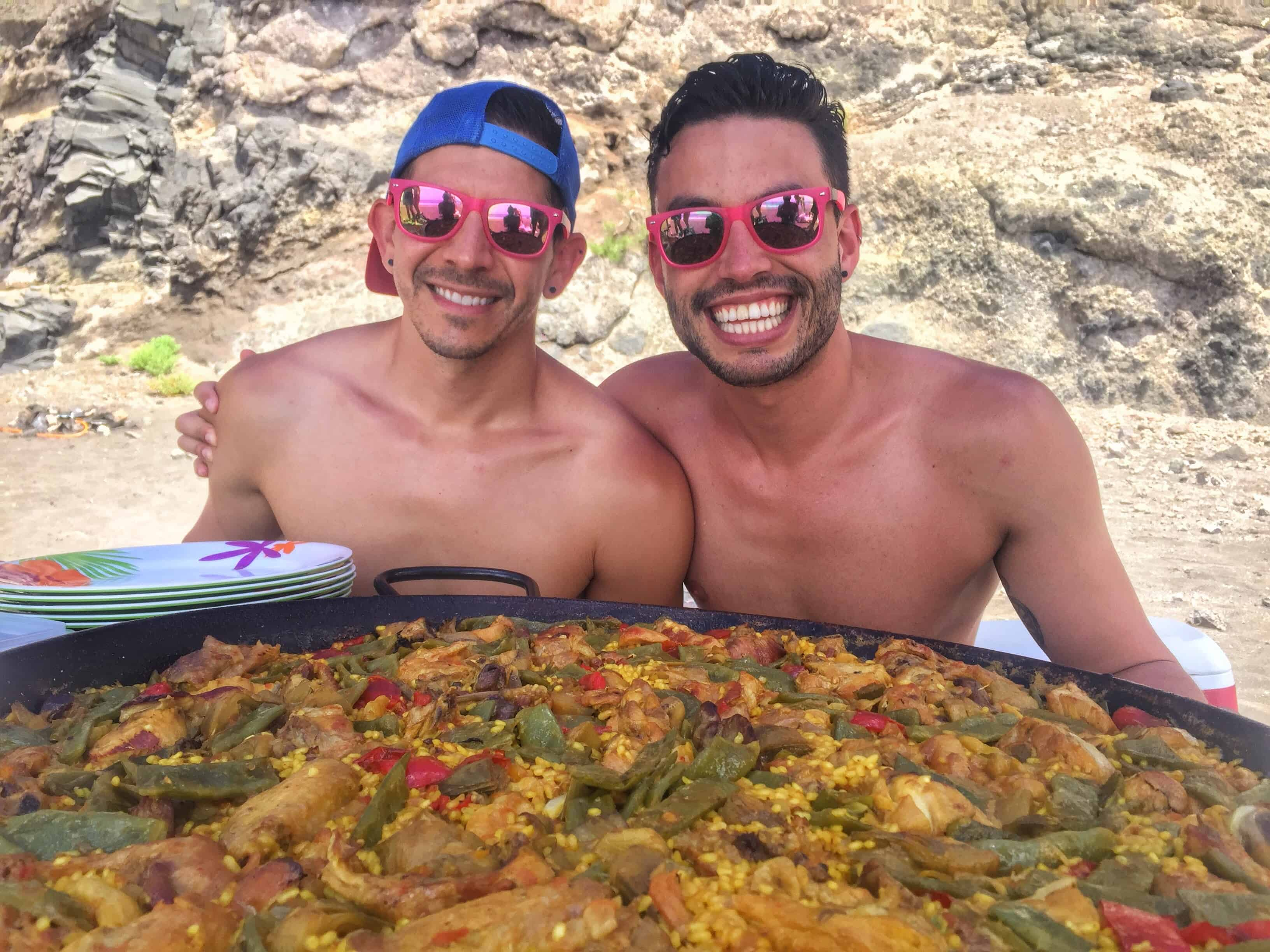 gay cruising barcelona with rail travel across