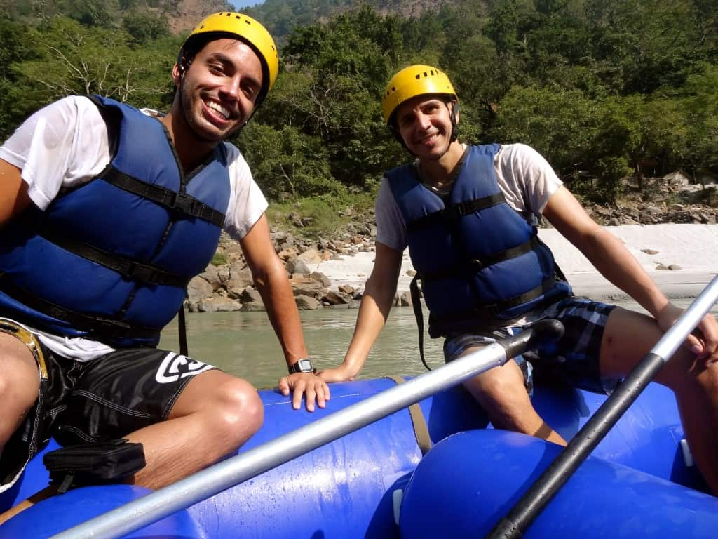Rafting the Ganges River in Rishikesh