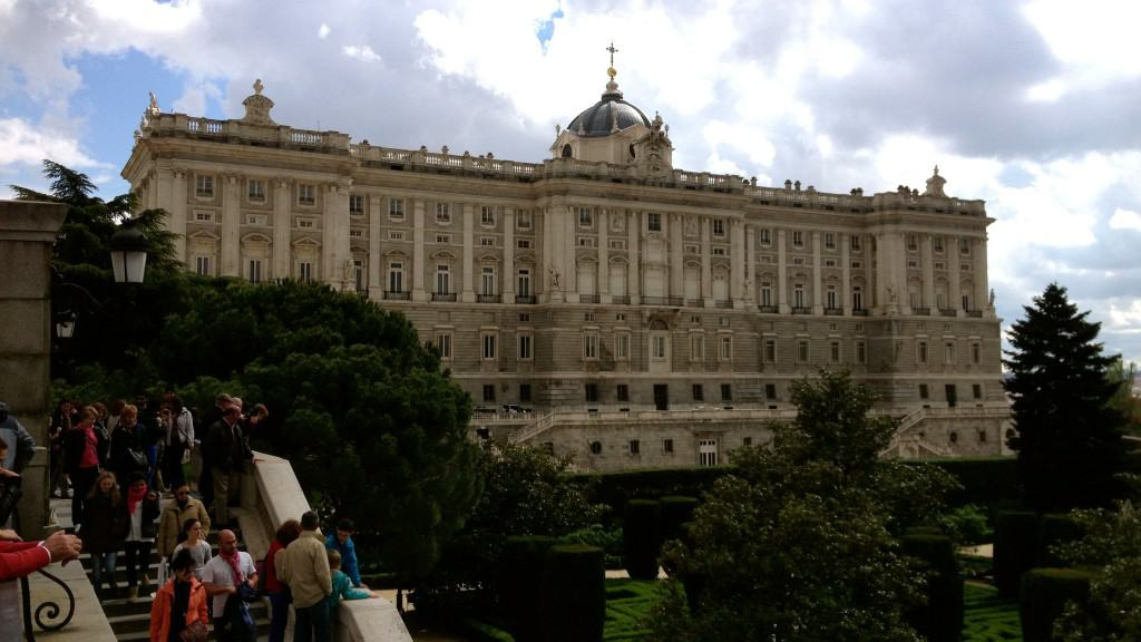 Palacio Real in Old Madrid
