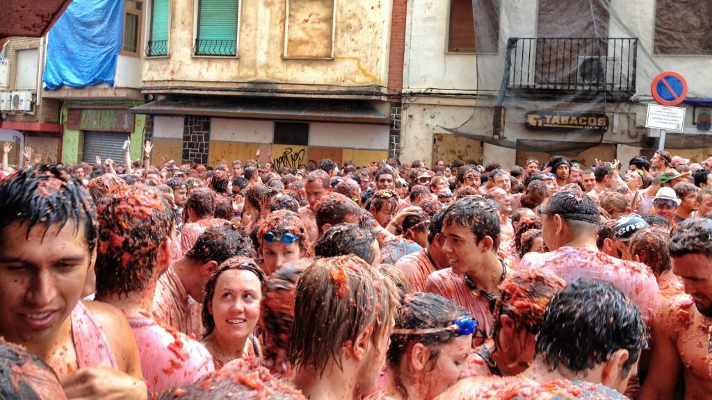 La Tomatina - The Annual Tomato Fight in Spain