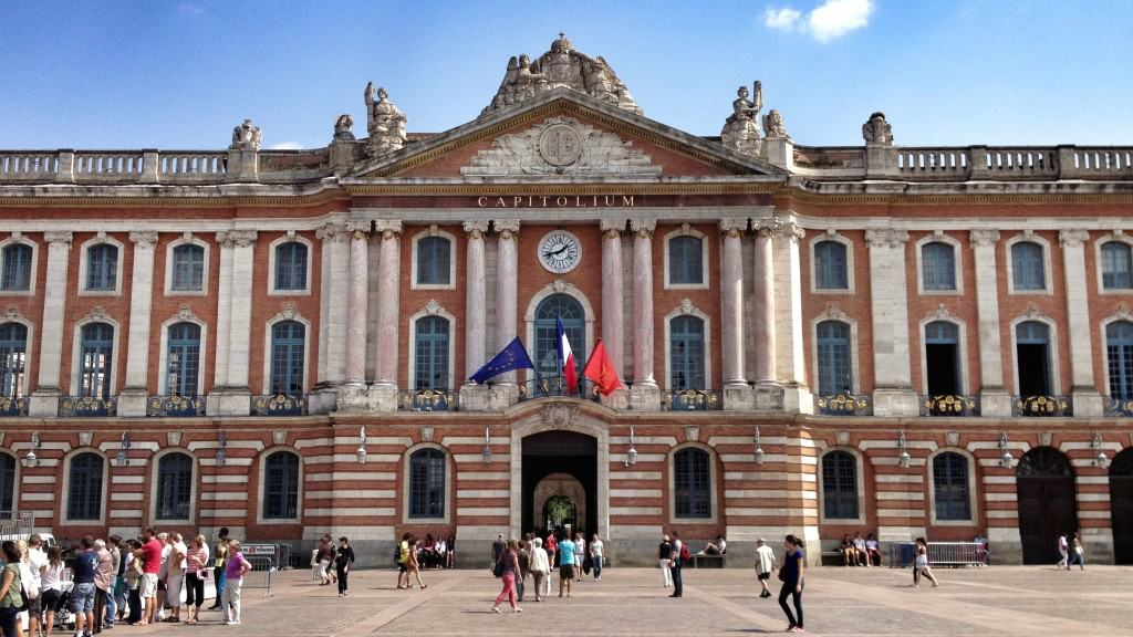 The Capitole in  Toulouse