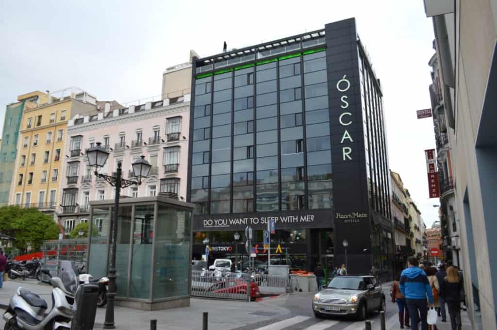Hotel Oscar Madrid - most propular gay hotel in madrid
