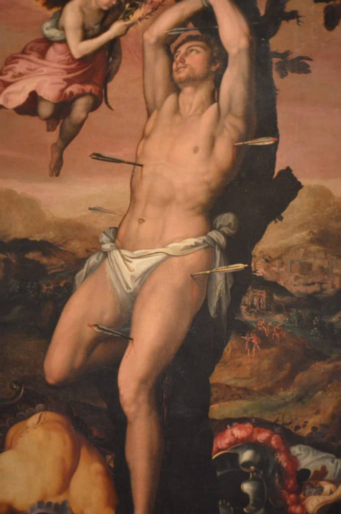 St Sebastian Patron Saint of the Gays